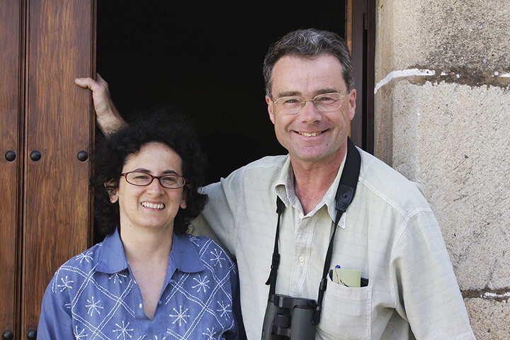 Martin Kelsey and his wife Claudia