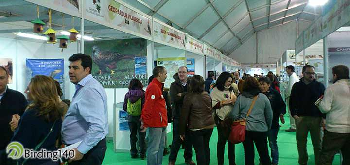 Inside the tent Birdwatching in FIO 2015