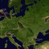 ruta migratoria grulla comun europa