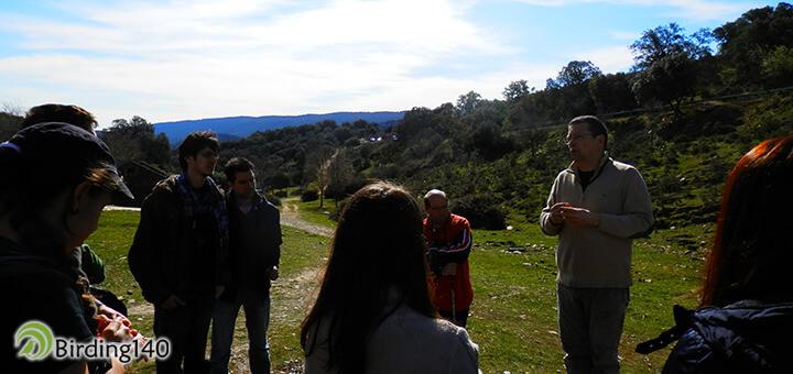 Rafael Serra - excursión Quercus FIO 2015